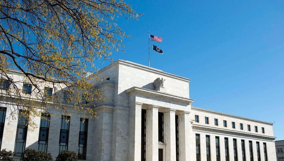 Federal Reserve Bank in Washington: Die US-Notenbank gerät in eine Rolle, die sie eigentlich nicht will