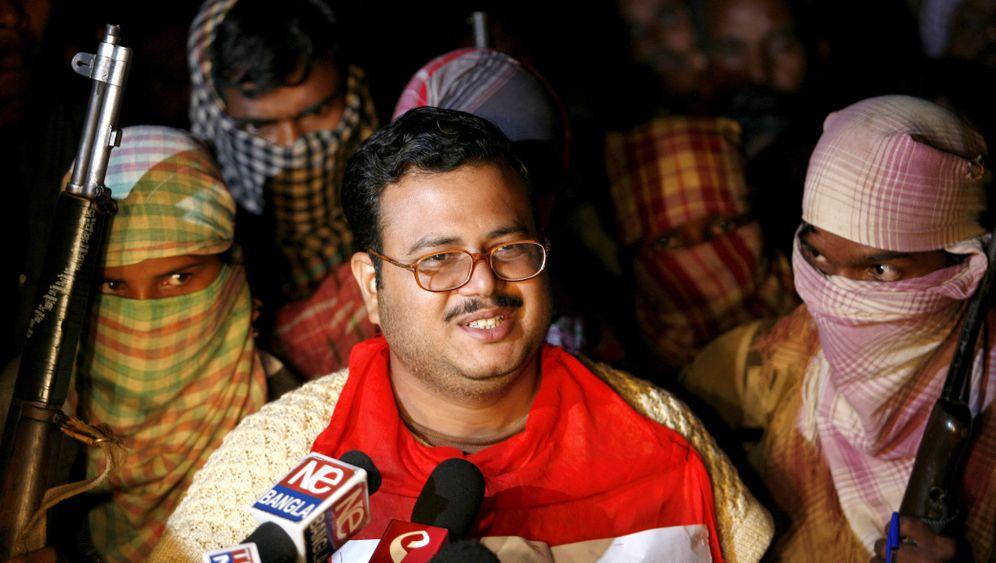 """Maoisten in Indien: """"Es wird ein langer blutiger Kampf"""""""