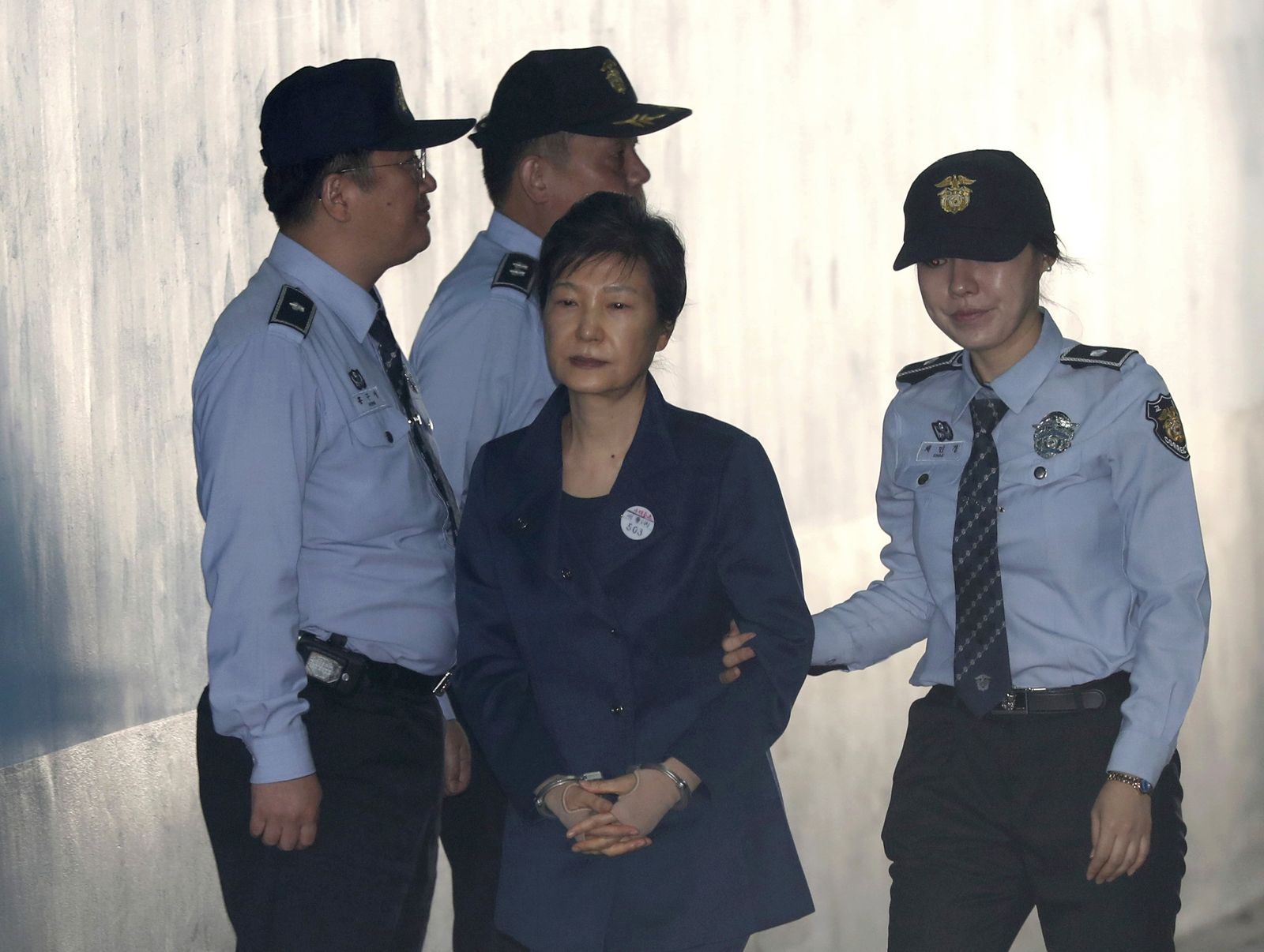 South Korea Ex-President Detained