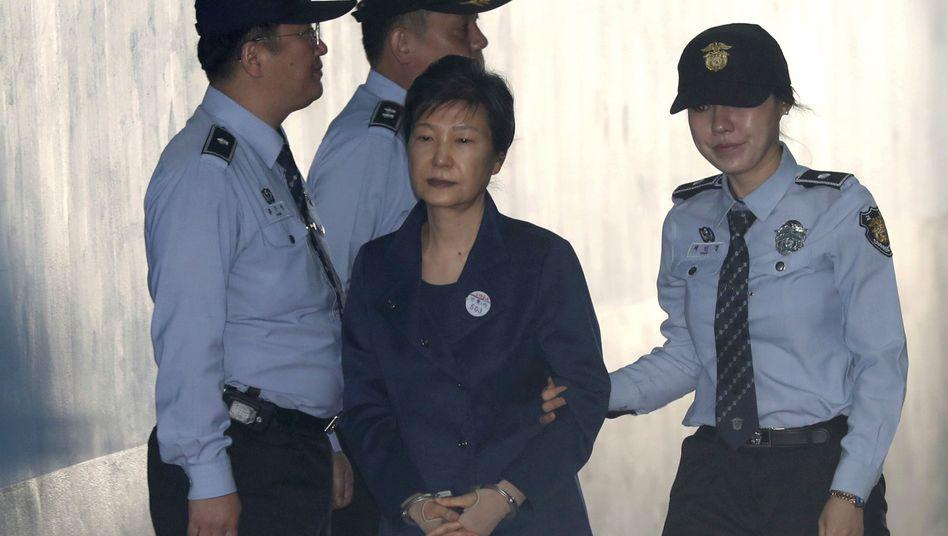 Südkoreas Ex-Präsidenten Park Geun Hye