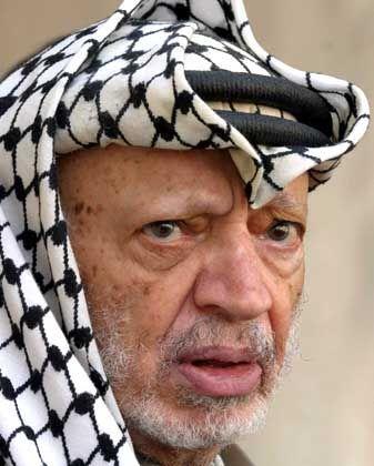 """Erkrankter Arafat: """"Wir bereiten uns auf alles vor"""""""