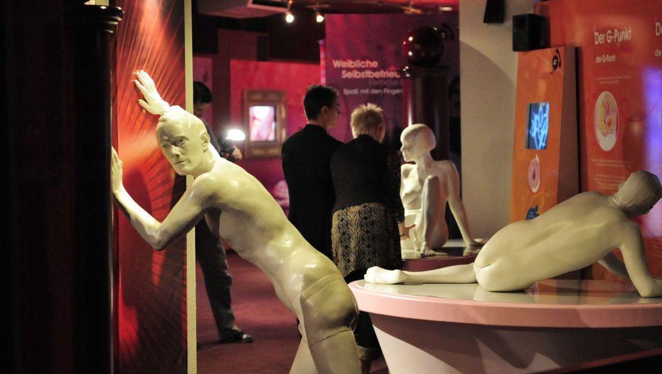 Blick in das seit 2014 geschlossene Beate-Uhse-Museum: Persönliche Annäherung der Unternehmerin an Erotik