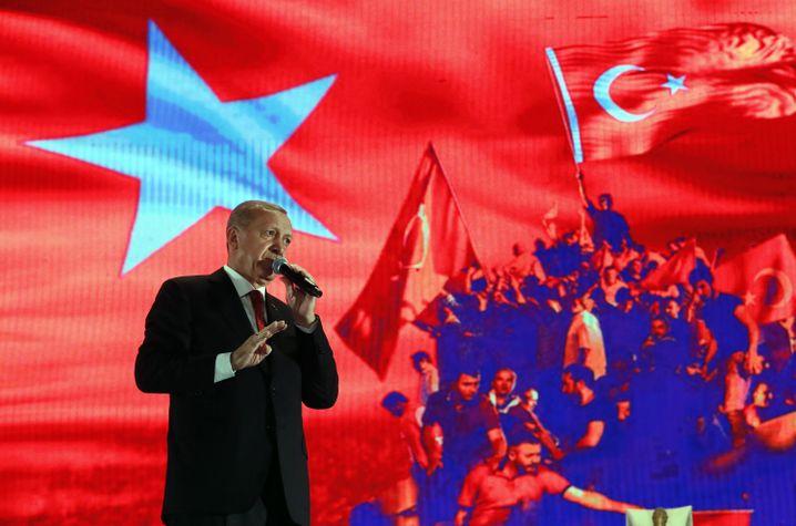 Türkischer Präsident Erdogan: Braucht innenpolitisch dringend einen Erfolg