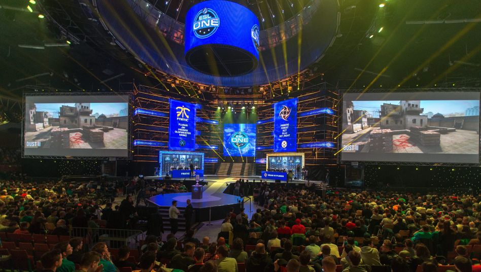 Counter-Strike-Turnier auf dem ESL-One-Event 2015 in Polen