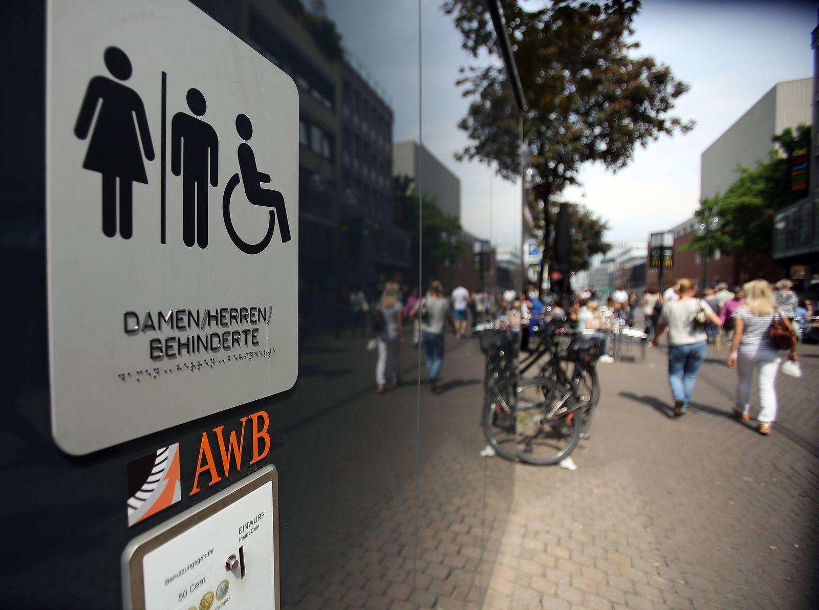 Toilettenanlage Köln