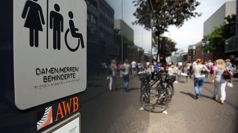 Öffentliche Toilette in Köln: 50 Cent - zumindest für manche