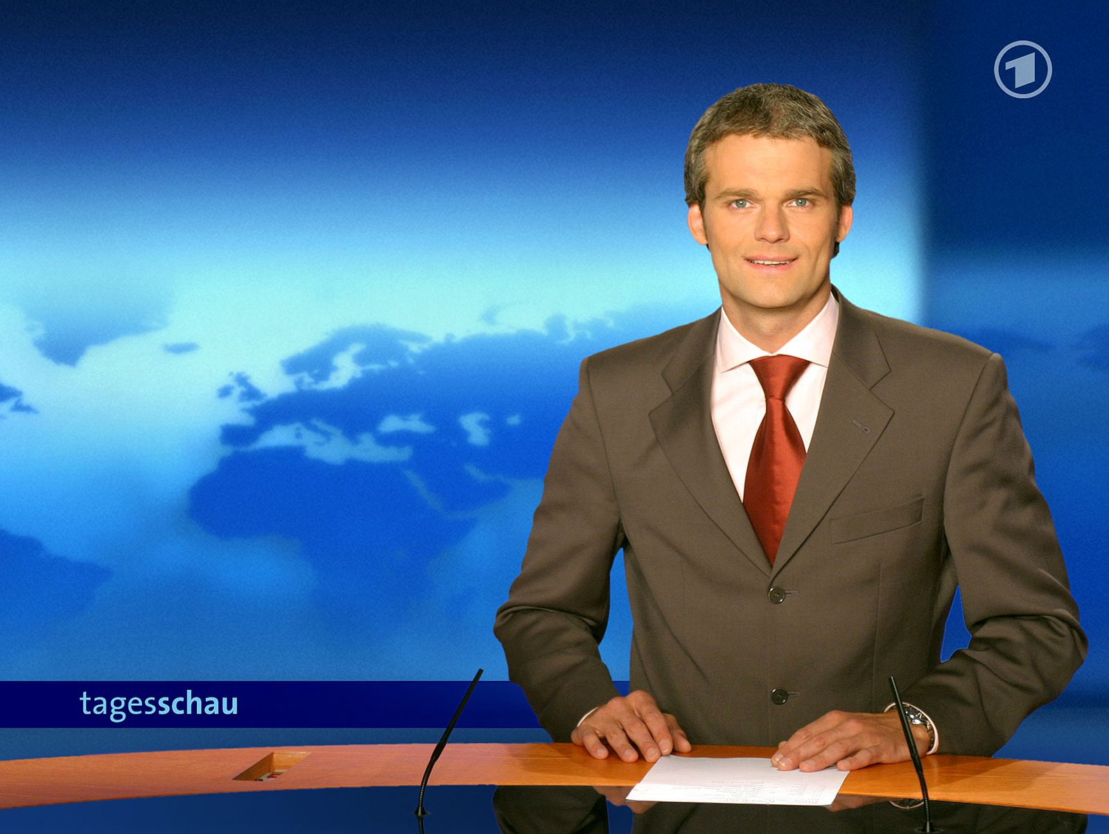 DEU Medien Fernsehen Tagesschau