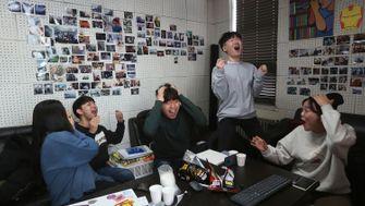 """So feiert Südkorea """"Parasite"""""""