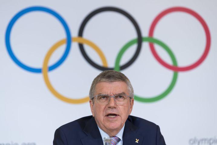 IOC-Präsident Thomas Bach: Dass er ein Deutscher ist, ist kein Wettbewerbsvorteil für den DOSB