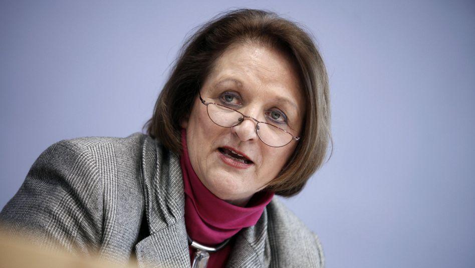Ministerin Leutheusser-Schnarrenberger: Setzt auf Selbstregulierung