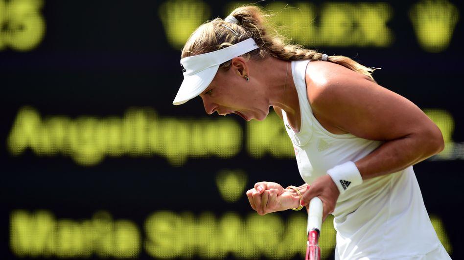 Tennisspielerin Kerber: Zum zweiten Mal im Viertelfinale