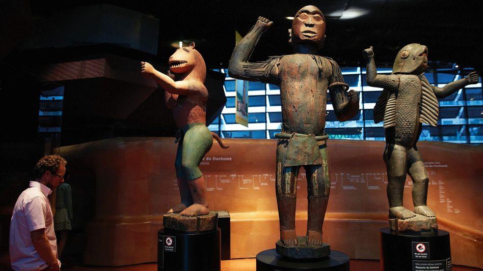 Skulpturen im Pariser Musée du quai Branly: Warum hier, wenn in Afrika nichts mehr ist?