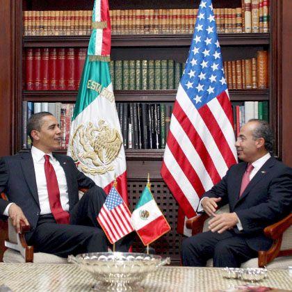 """Obama und Calderón(r.): """"Neues Zeitalter"""" der Beziehungen"""