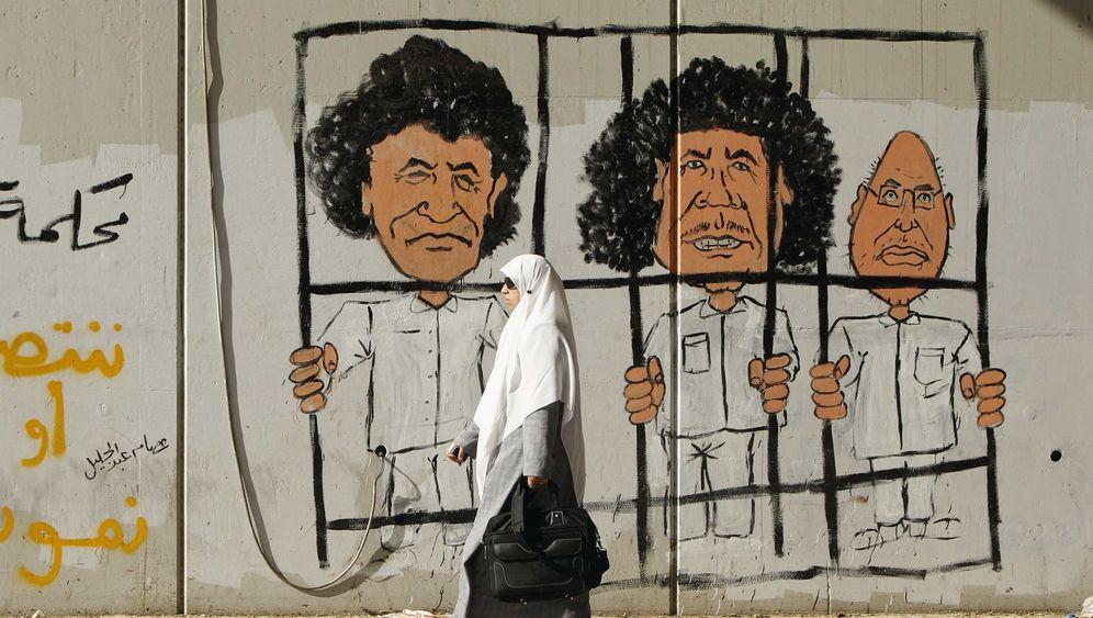 Gaddafis Schergen: Diktatorensohn und Folterchef gefasst