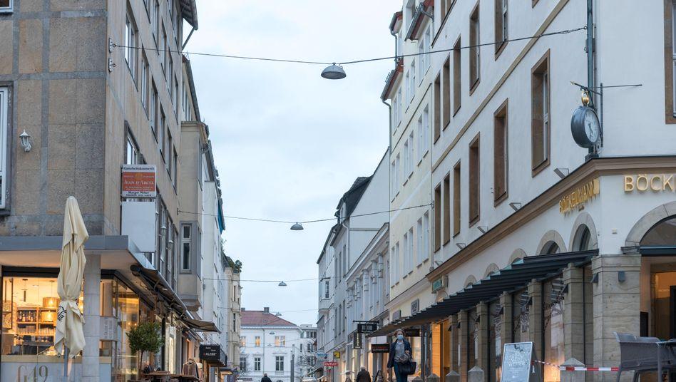 Bielefeld: Der Wert der Neuansteckungen pro 100.000 Einwohner innerhalb von sieben Tagen ist hier höher als auf den Balearen