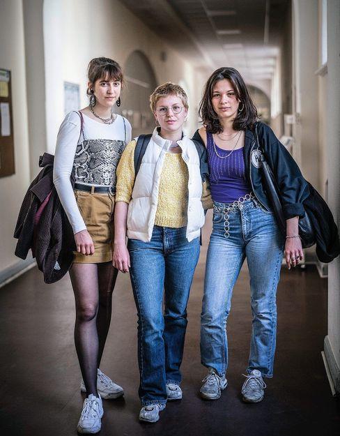 """Schülerinnen Pauline, Leonie, Emily: """"Da ist ein gewisses Ohnmachtsgefühl"""""""