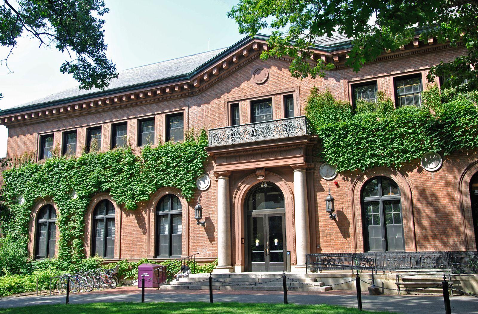 EINMALIGE VERWENDUNG Smith College/ Northampton/ Massachusetts