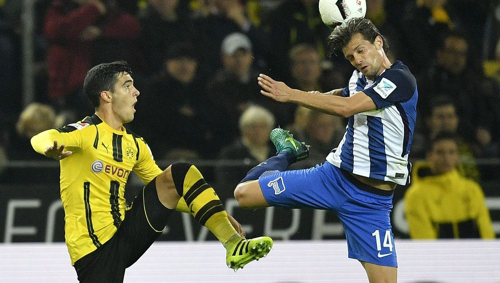Dortmunds Remis gegen Hertha: Erst Langeweile, dann Hektik