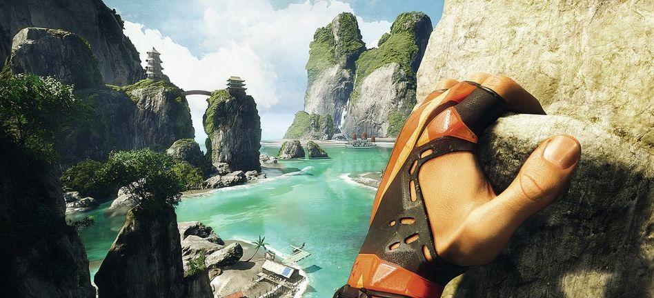 """3-D-Simulationsspiele »The Climb«, »Robinson – The Journey"""": Echt ist nur die Angst zu fallen"""