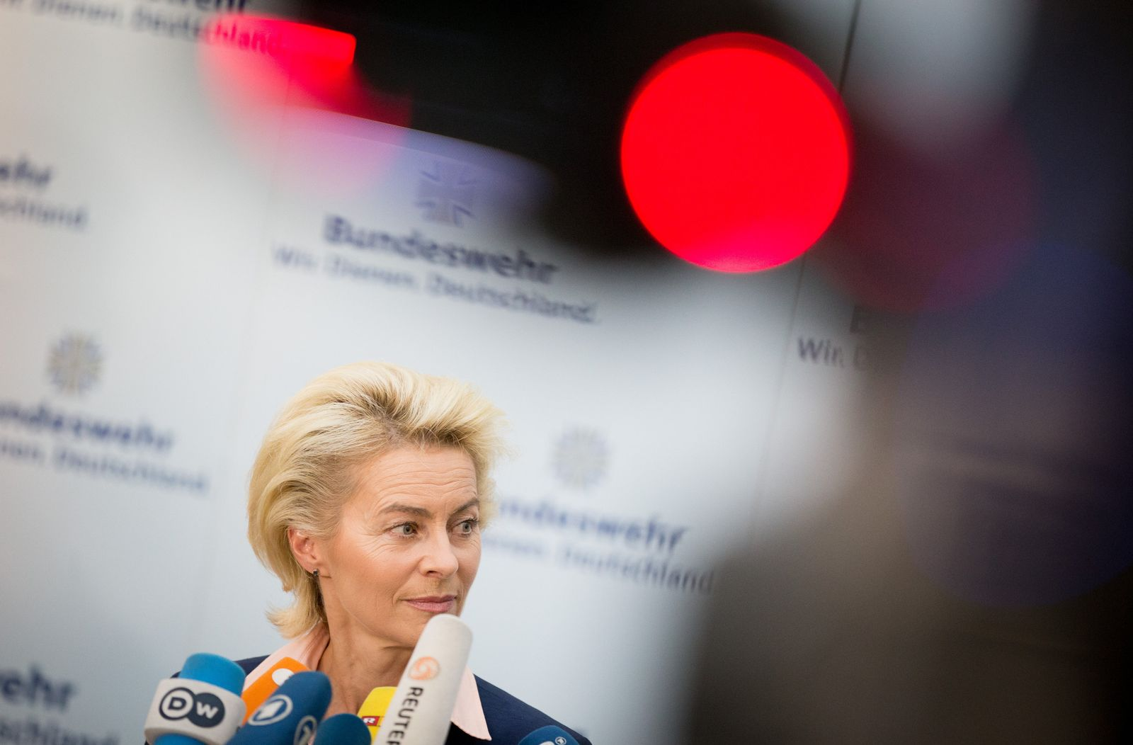 Bundesverteidigungsministerin von der Leyen (CDU)