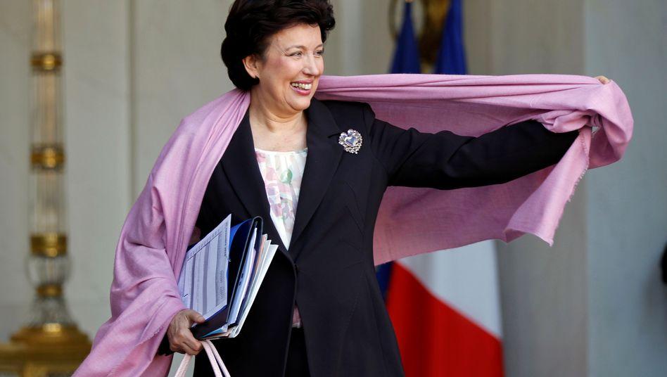 Frankreichs neue Kulturministerin Roselyne Bachelot, 73