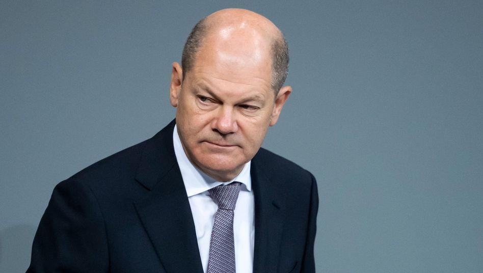 Bundesfinanzminister Olaf Scholz (SPD) hält die Soli-Teilabschaffung für verfassungskonform