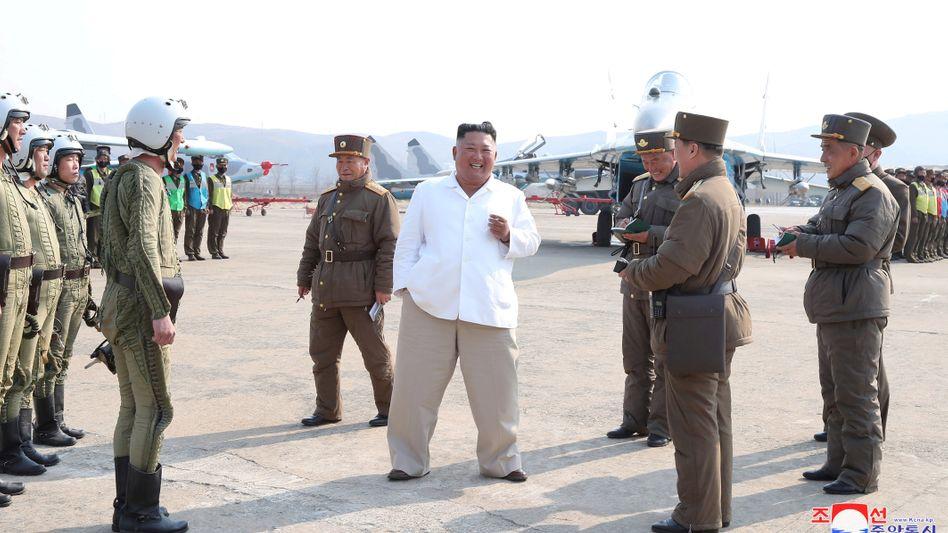 Nordkoreas Machthaber Kim Jong Un: keine Lockerungen der Sanktionen, kein Interesse an Frieden