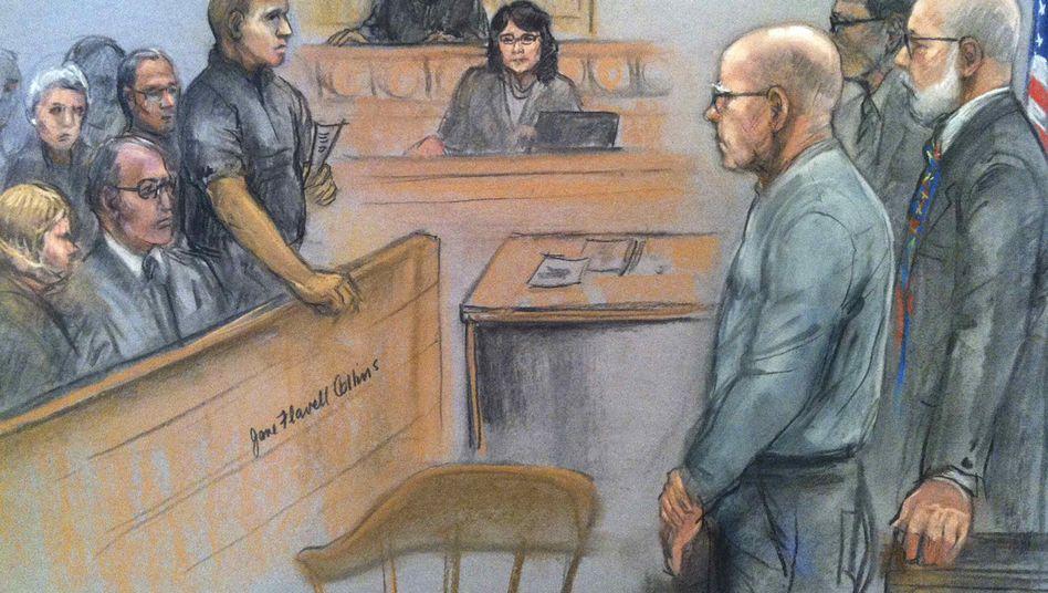 """James """"Whitey"""" Bulger (rechts): """"Richter, Jury und gelegentlich Henker"""""""