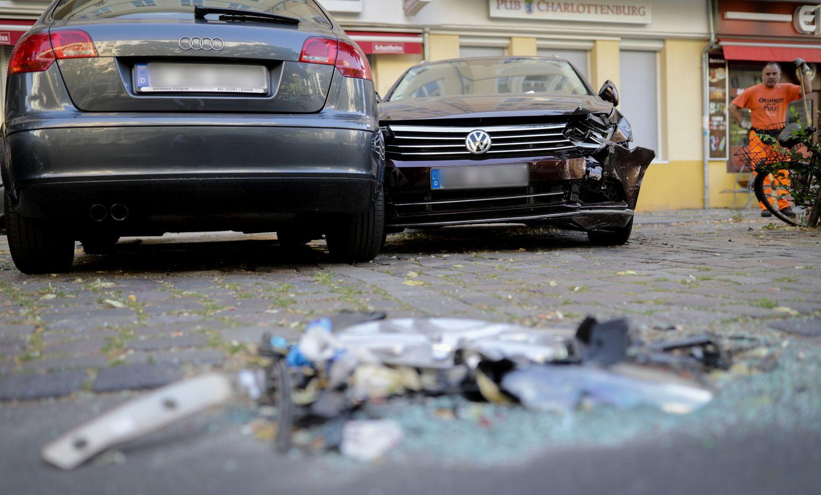 Radlerin bei Verfolgungsjagd in Berlin getötet