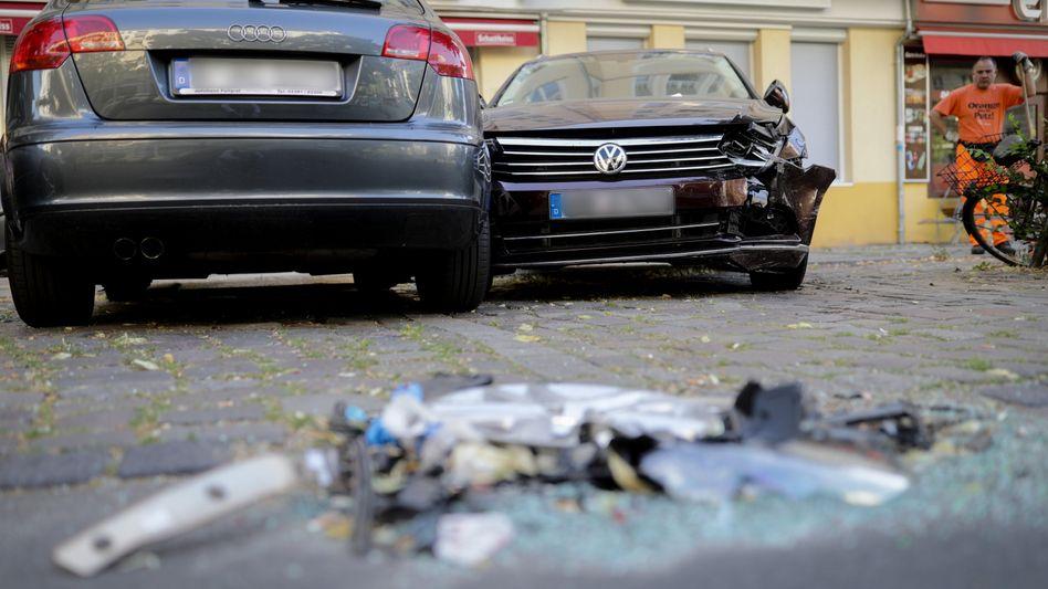 Unfallort in Berlin-Charlottenburg
