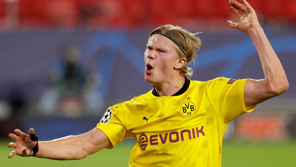 Erling Haaland: 18. Tor im 13. Champions-League-Einsatz