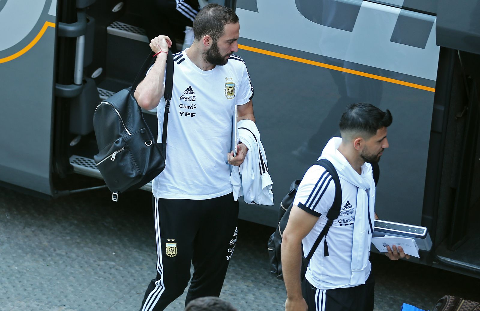 Argentina National team, in Barcelona