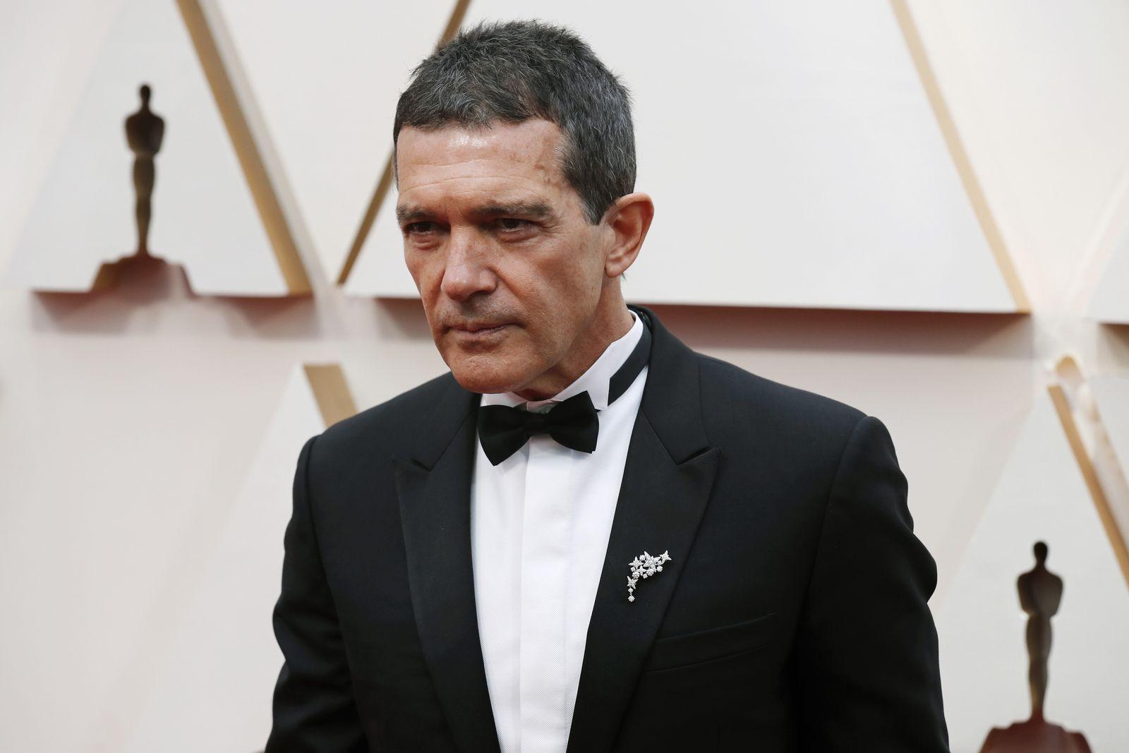 Banderas says he has tested positive for Coronavirus, Hollywood, USA - 09 Feb 2020