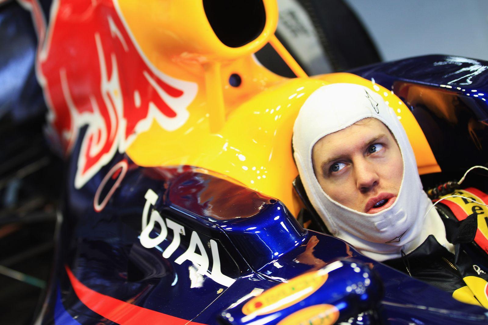 Vettel / Formel 1 2012