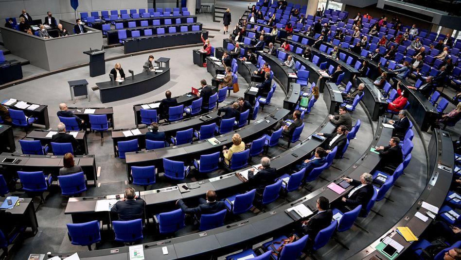 Bundestagssitzung (Archivfoto): Abgeordnete begehren auf