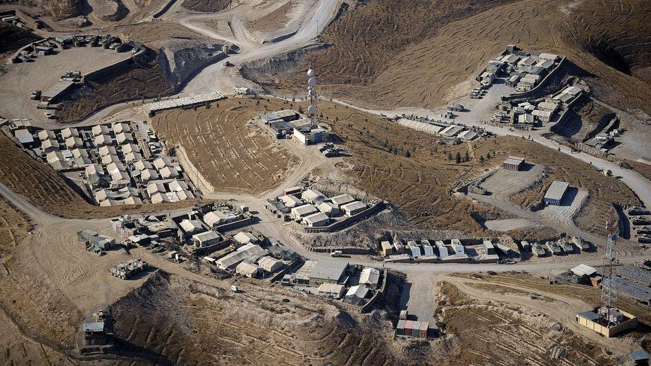 Bundeswehr-Außenposten in der Provinz Baghlan 2012