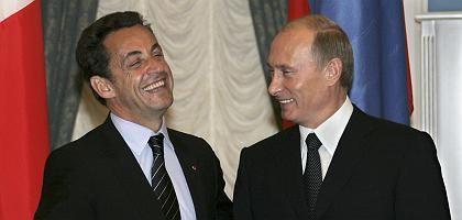 """Sarkozy, Putin: """"Willst Du so enden wie Bush?"""""""