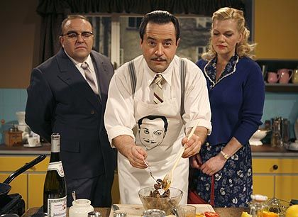 """The TV movie """"Wilmenrod -- It's on the Tip of My Tongue"""" pays homage to the 1950s celebrity."""