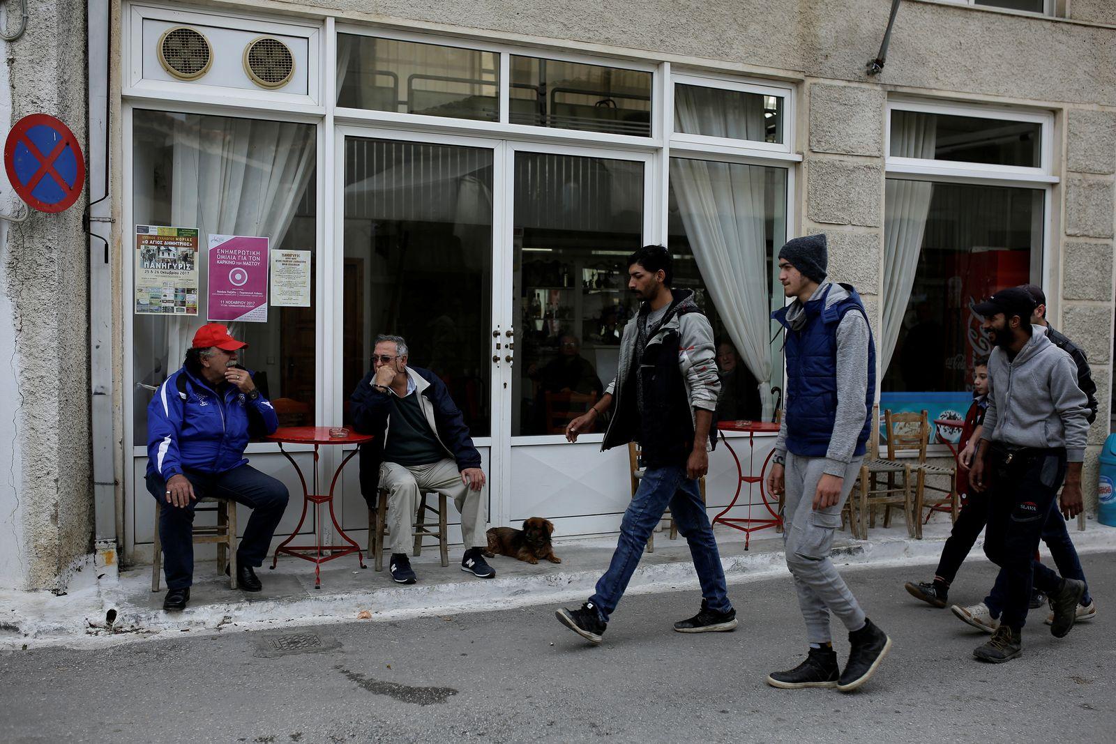 Griechenland/ Flüchtlinge/ Lesbos