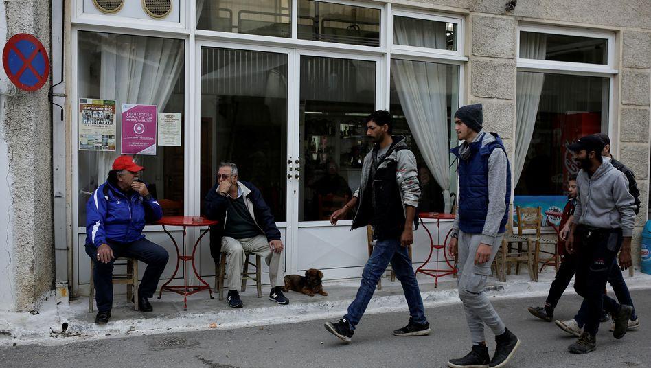 Migranten oder Flüchtlinge? Derzeit kommen vor allem Afghanen, Syrer und Iraker in Griechenland an