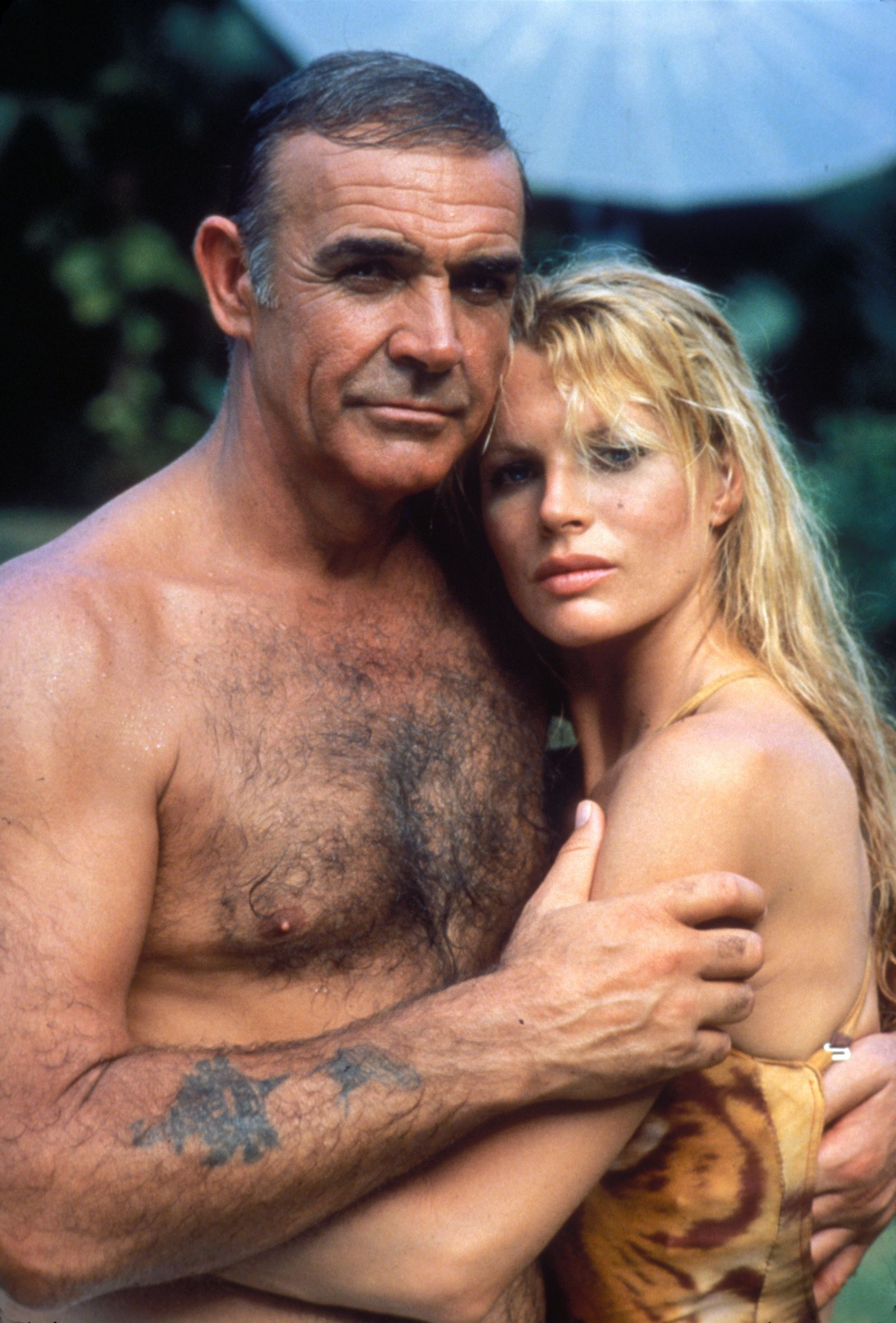 """Never Say Never Again"" Sean Connery, Kim Basinger © 1983 Warner Brothers **I.V."