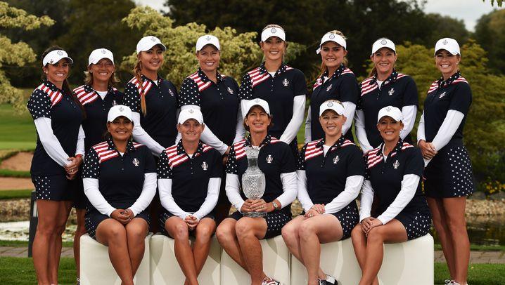 Golf: Team USA beim Solheim Cup 2015