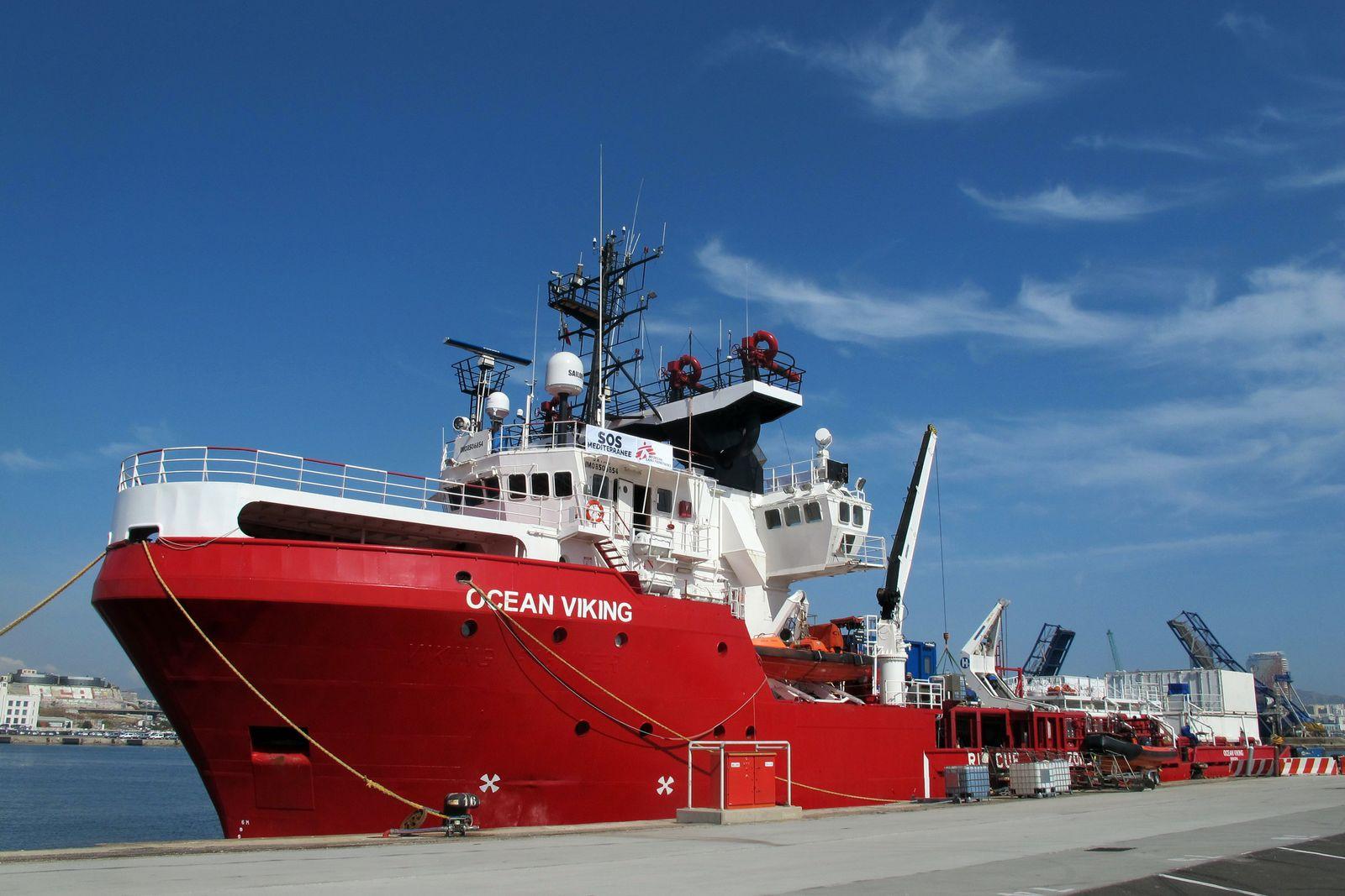 """Seenotrettung im Mittelmeer - """"Ocean Viking"""""""