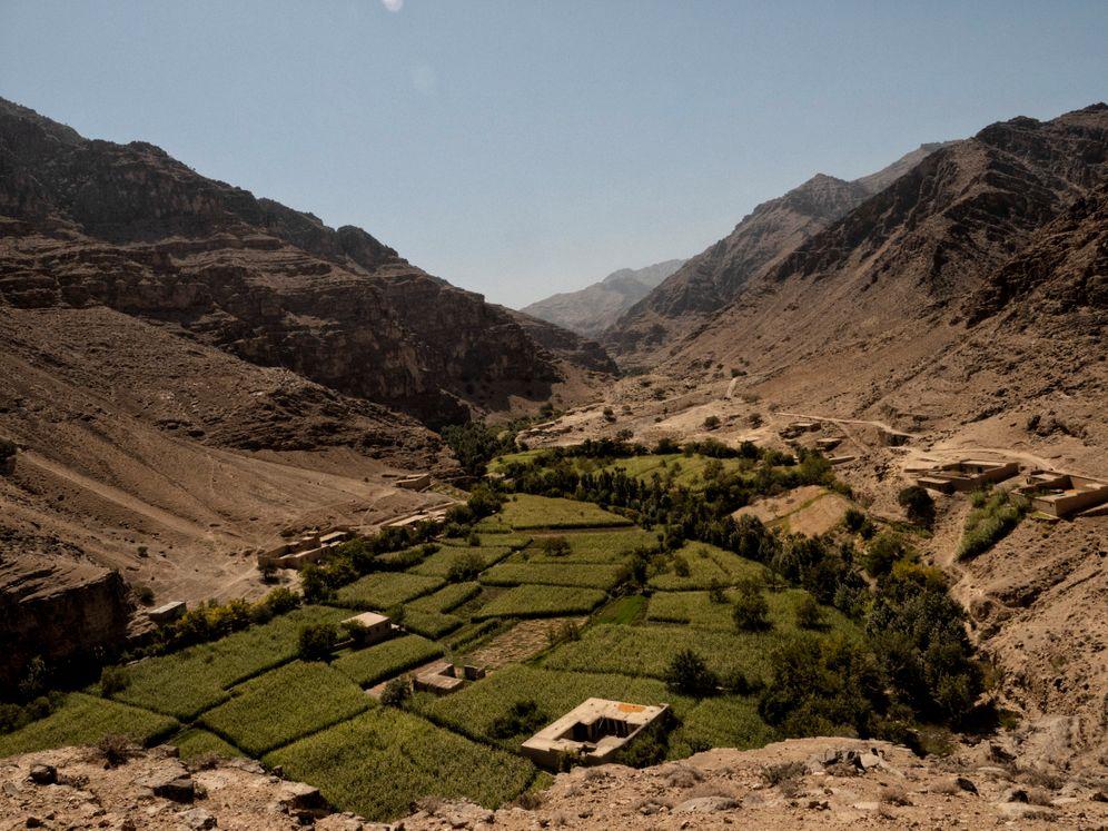 Farmland in the Tagabdar Valley