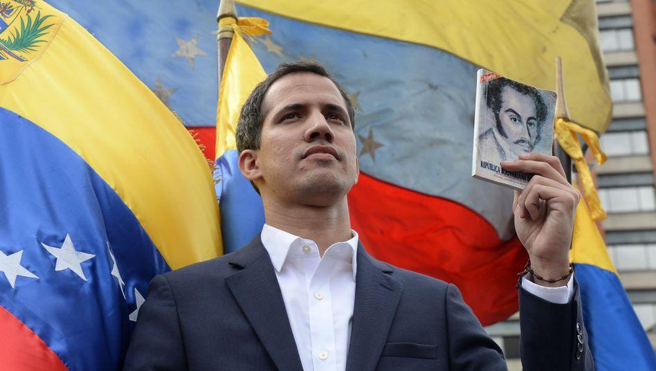 Self-appointed Venezuelan President Juan Guaidó