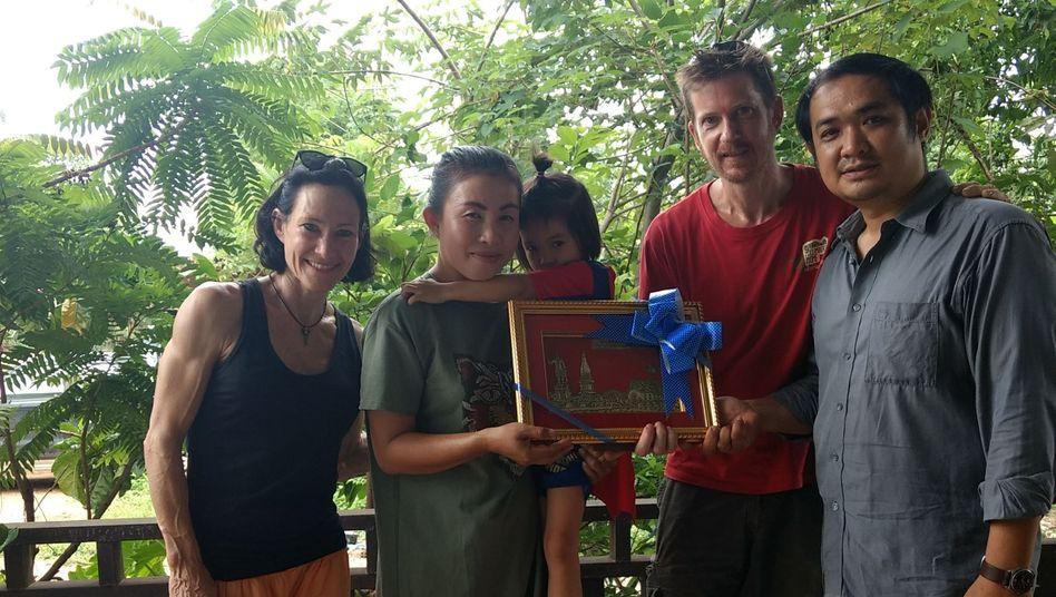 Nach acht Jahren verabschiedeten sich Tanja und Uli Weidner aus Laos.