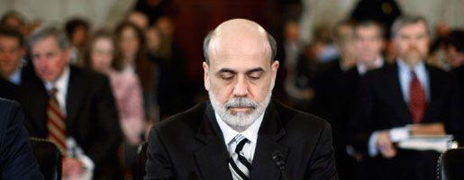 Notenbanker Bernanke: George Bush hat der Prüfung zugestimmt. Er weiß: Die Ergebnisse liegen erst nach Ende seiner Amtszeit vor - dann ist der Fed-Chef der alleinige Sündenbock