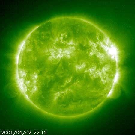 Sonneneruption: Erregung im Elf-Jahres-Rhythmus