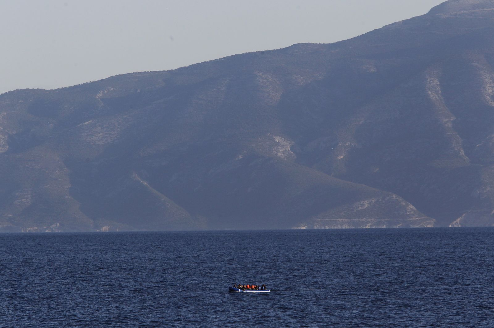 Griechenland/ Agathonisi/ Flüchtlinge