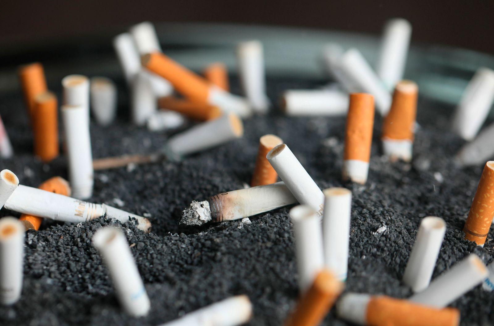 On The Money Smoking Employees